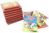(13pc) Vintage Assorted Books, Magazines, Comics