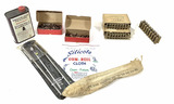 Shells, Bullets, Rifle Cleaning Rods, Powder