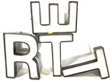 Assorted Store Front Letters, Signs