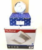 Sunflower Shower Head W/ Nutone Vent Fan Light
