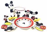 Walt Disney Mickey & Minnie Mouse Figurines