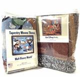 (2pc) Walt Disney Tapestry Woven Throws