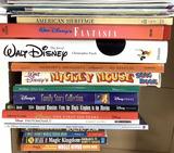 (18+pc) Assorted Disney Books & Cross Stitch