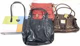 (4pc) Women's Fashion Purses, Shoulder Bags