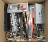 Drill Bits, Socket Sets, Hacksaw Blades, Files