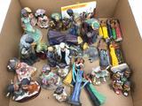 Ceramic Nativity Scene & Religious Figurines