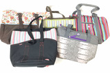 (5pc) Women's Tote Bags, Lunch Bags