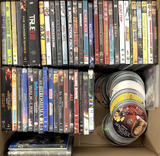 (50+pc) Assorted Theatrical, Movie Dvds