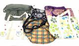 (6pc) Women's Purses, Tote Bags