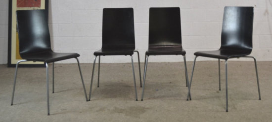 4 Bent Wood IKEA Chairs