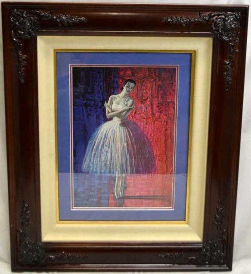 (2) Tretchiko Ballerina Dancer Print Lot