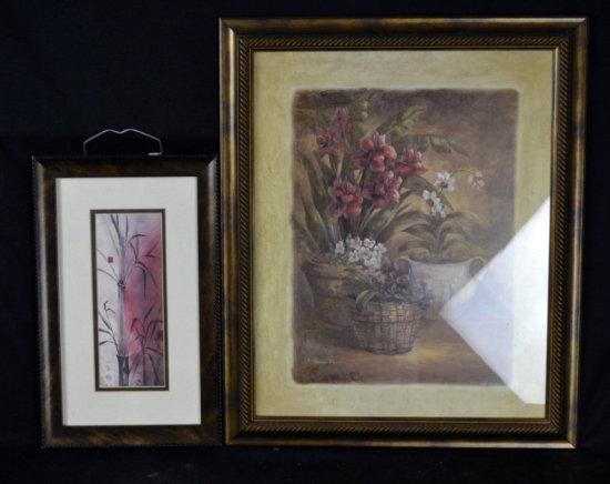 Wall Decor, Prints, Flower, Asian