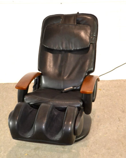 Human Touch Massage Recliner Leather Chair *Works*