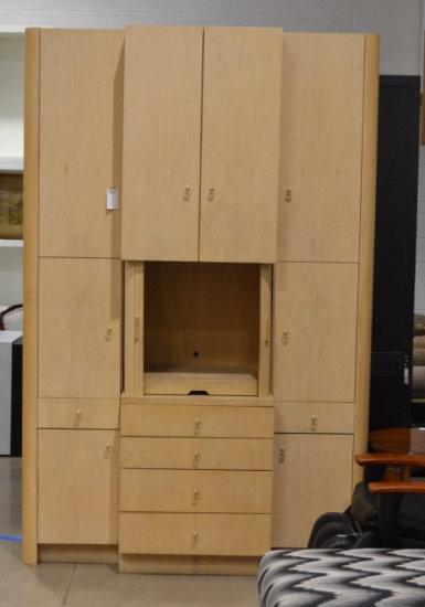 4 Pc Bedroom Entertainment Cabinet