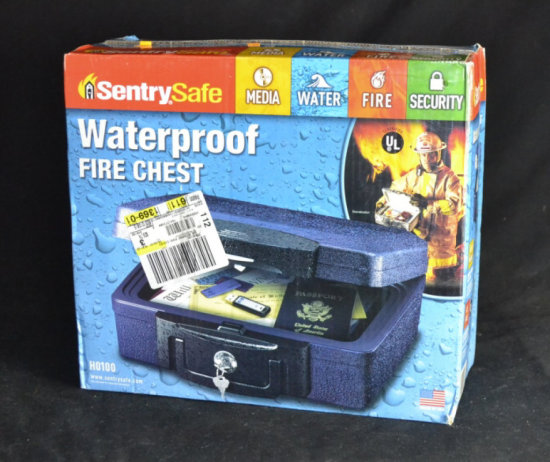Sentry Safe Waterproof Fire Chest NEW