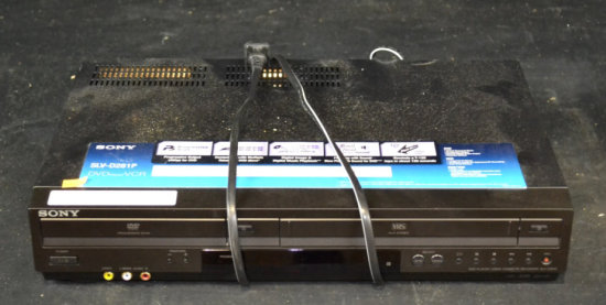 Sony DVD/VHS Player *Works*