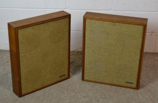 Vintage Lafayette Wall Speakers Decor-ette V