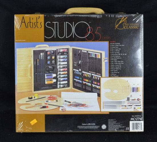 Artist's Studio 85 Pc Set, Art Studio Classic