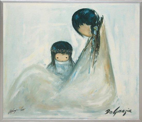 Ted (Ettore) De Grazia (1909-1982) Ltd. Ed. Print