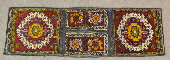Hand Woven Camel Saddle Blanket
