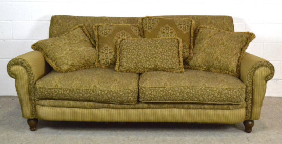 Alan White Furniture Sofa & Pillows