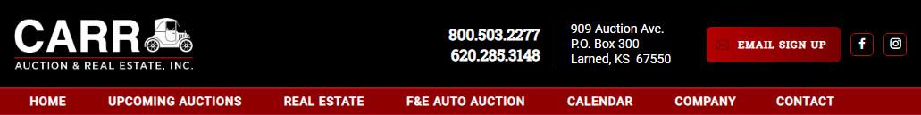 Carr Auction