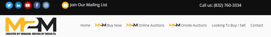 m2m Auctions