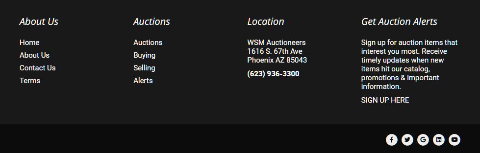 WSM Auctions