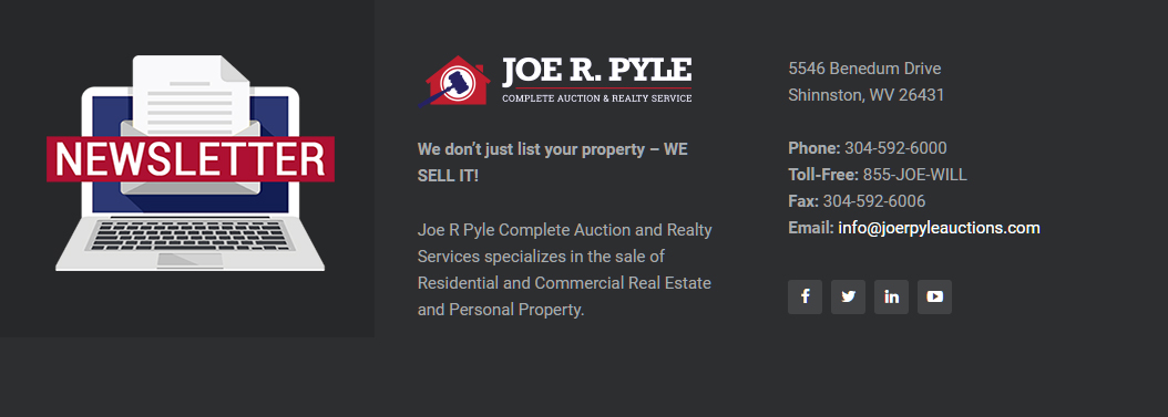 Joe R Pyle Auctions
