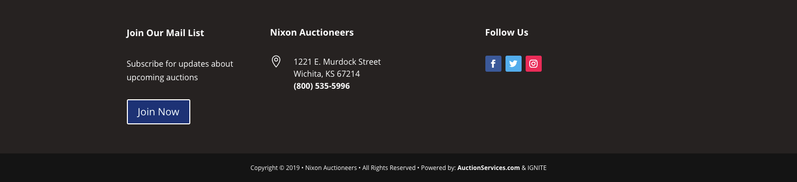 nx Auctions