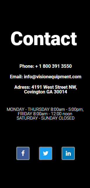 Vision Equipment & Auctions